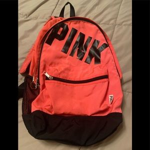 PINK Victoria's Secret pink backpack